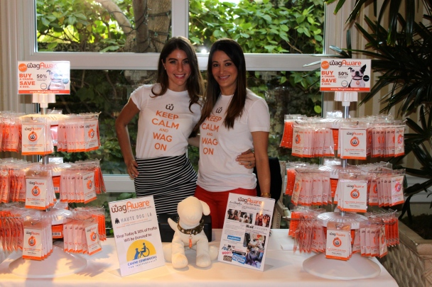 A Dog Blog WagAware Raises Funds at Haute Dog LA Show